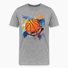 Basketball graffiti art T-Shirts