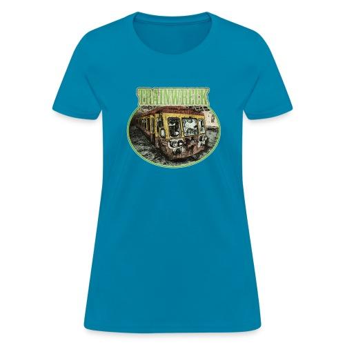 Trainwreck (strain) - female - Women's T-Shirt
