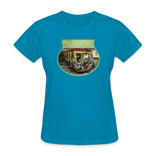 Trainwreck (strain) - female - Women's T-Shirt