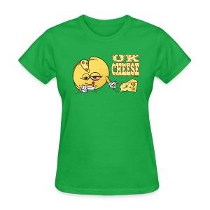 UK_ Cheese (strain) - female - Women's T-Shirt