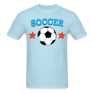T-Shirts ~ Men's T-Shirt ~ Soccer Star Soccer Player Mens Tshirt
