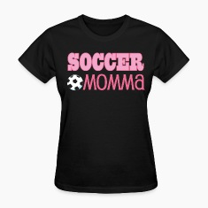 Soccer Momma Ball Pink Women's T-Shirts