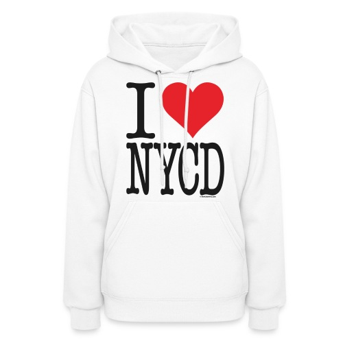i love nycd (strain) - Hoodie / female  - Women's Hoodie