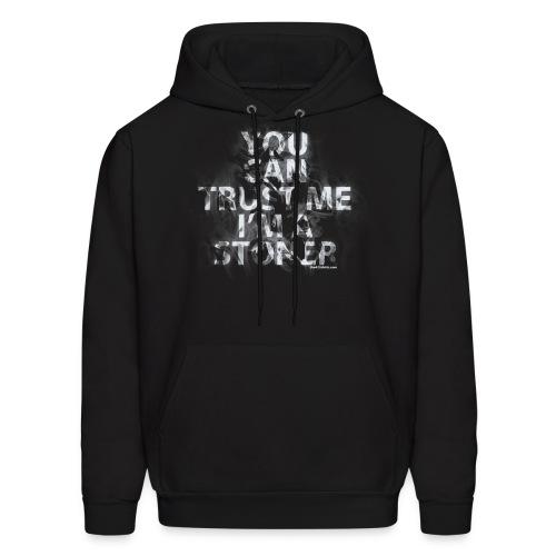 trust me, i'm a stoner - Hoodie / male - Men's Hoodie
