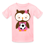 Kids' Shirts ~ Kids' T-Shirt ~ Cute Girls Soccer Tshirt