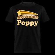 T-Shirts ~ Men's T-Shirt ~ Awesome Pop Pop Vintage Poppy Mens Tshirt