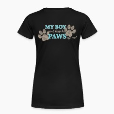 My Boy Can't Keep Paws Off Me, Dog Prints