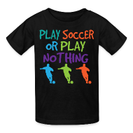 Kids' Shirts ~ Kids' T-Shirt ~ Fun Kids Soccer Player Soccer Tshirt