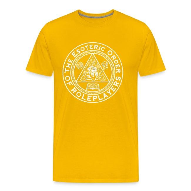 Esoteric Order of Roleplayers Logo Shirt (Men's White Logo)