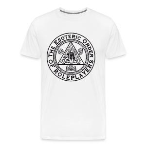Esoteric Order of Roleplayers Logo Shirt (Men's Dark Logo) - Men's Premium T-Shirt