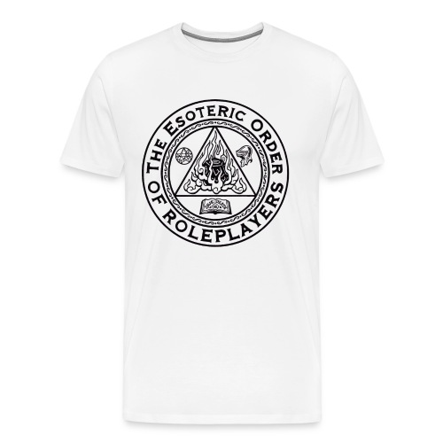 Esoteric Order of Roleplayers Logo Shirt (Men's Dark Logo) - Men's Premium T-Shirt