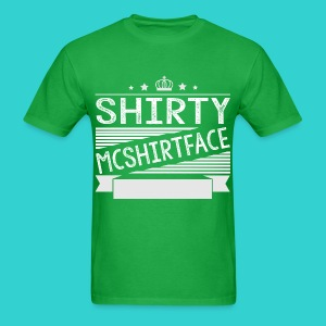 Shirty Mcshirtface 2 - Men's T-Shirt