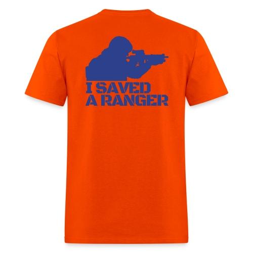 I Saved A Ranger - T-Shirt Orange/blue - Men's T-Shirt