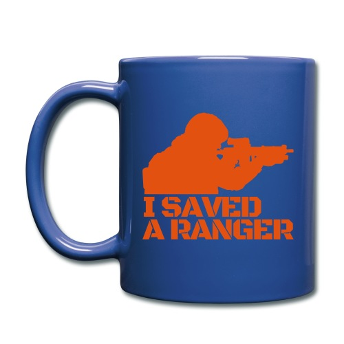 I Saved A Ranger - Mug Blue/Orange - Full Color Mug
