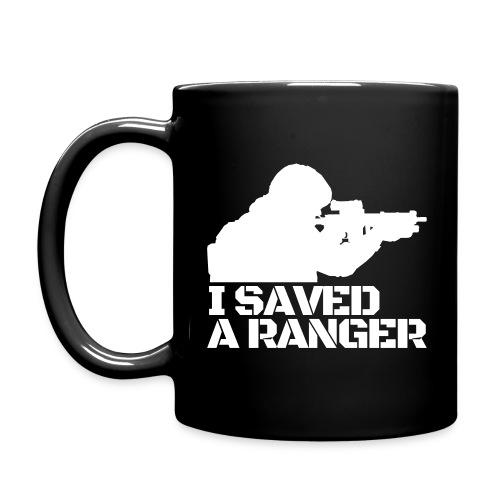 I Saved A Ranger - Mug Black/White - Full Color Mug
