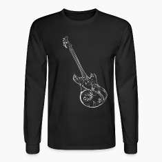 Love Music Guitar Long Sleeve T-shirt