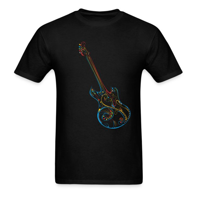 Love Music Guitar T-shirt
