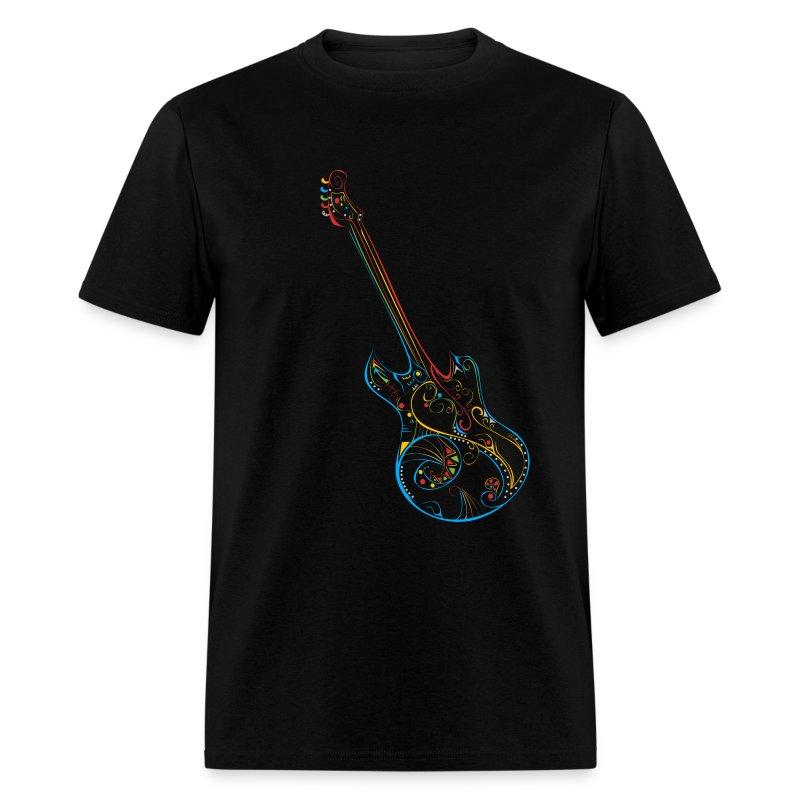 Love Music Guitar T-shirt - Men's T-Shirt