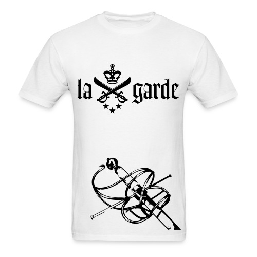 En Garde Rapier Tee (White) - Men's T-Shirt
