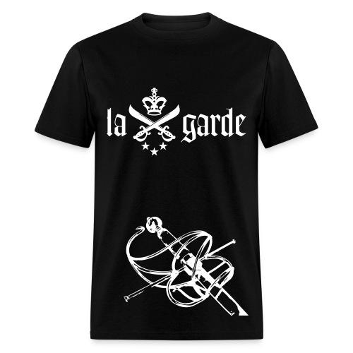 En Garde Rapier Tee (Black) - Men's T-Shirt