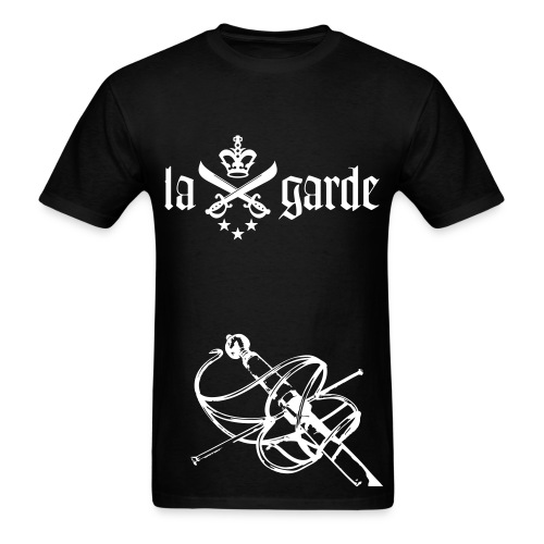 En Garde Rapier Tee (Black) - Men's T-Shirt
