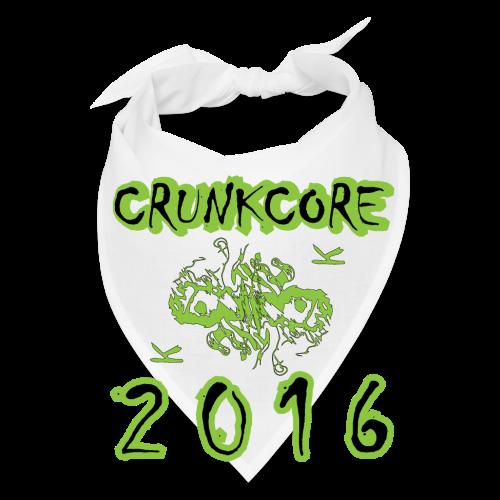 Crunkcore 2016 Bandanna - Bandana
