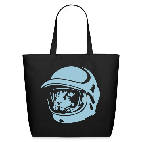 astro cat eco-friendly cotton tote - Eco-Friendly Cotton Tote