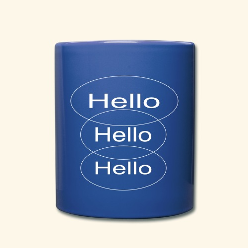 Hello Hello Hello  - Full Color Mug