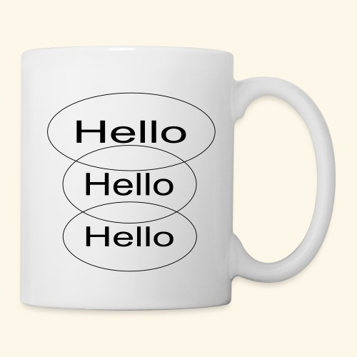 Hello Hello Hello - Coffee/Tea Mug