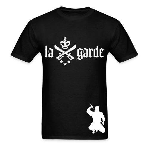 La Garde Mob Deep Tee (Black) - Men's T-Shirt