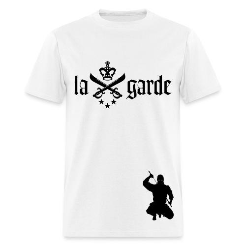 La Garde Mob Tee (White) - Men's T-Shirt
