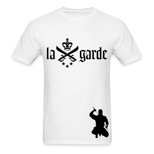 La Garde Mob Tee (White) - Men's T-Shirt