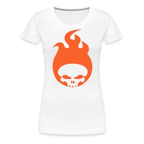 RadicalOne95's Flaming Skull Logo - Women's Tee - Women's Premium T-Shirt