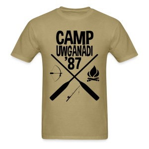 Camp Uwganadi Staff Shirt - Men's T-Shirt