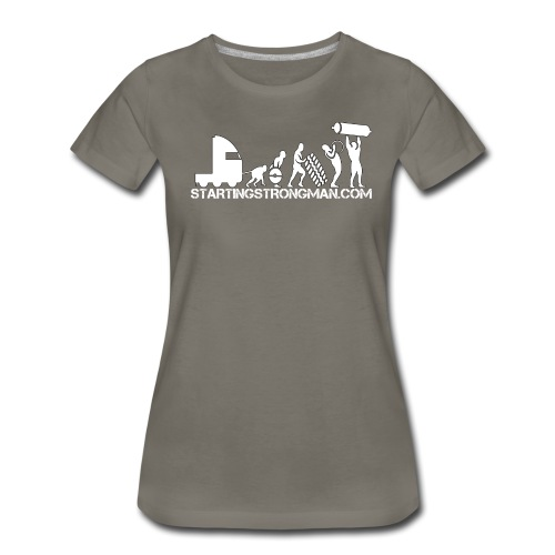 STRONGMAN EVOLUTION  - Women's Premium T-Shirt