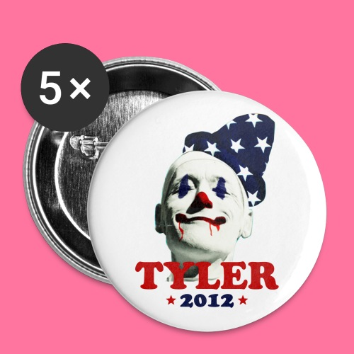 Tyler 4 Pres Pin - 5 pack - Small Buttons