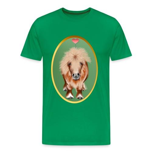 PONY-Oval - Men's Premium T-Shirt