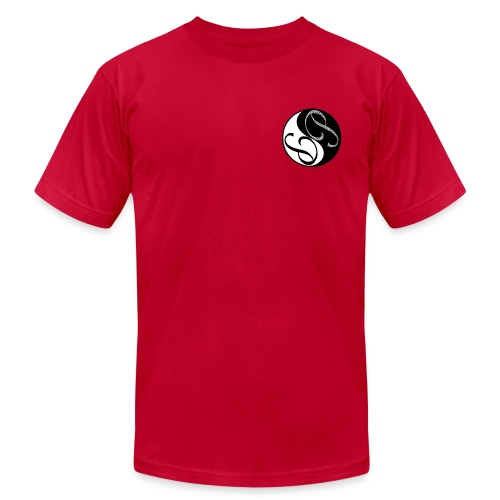 Ying Yang Male shirt - Men's Fine Jersey T-Shirt