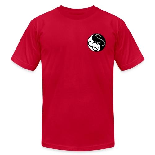 Ying Yang Male shirt - Men's  Jersey T-Shirt