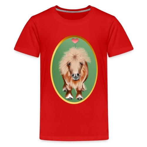 PONY-Oval - Kids' Premium T-Shirt