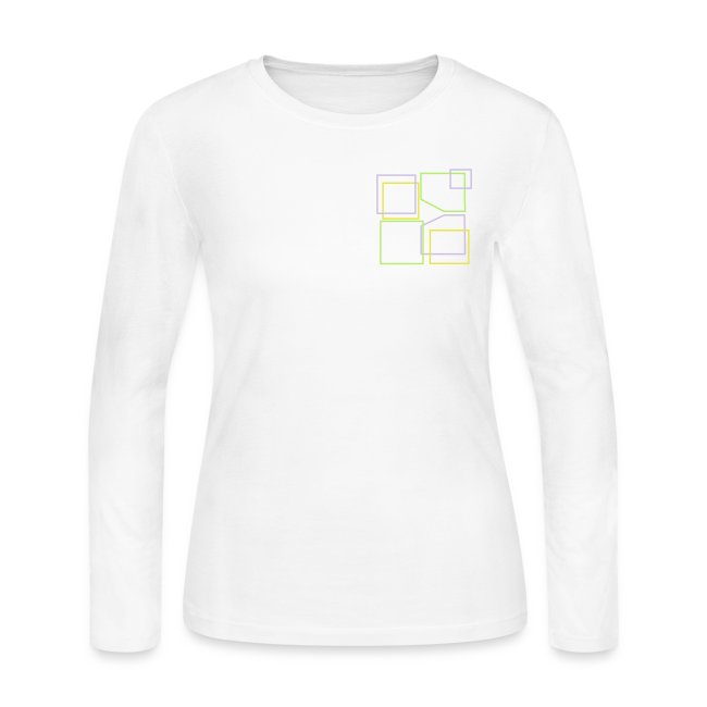 Women: Donald Louch Outline Long Sleeve Jersey T-Shirt