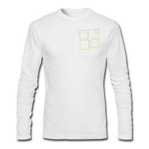 Men: Donald Louch Outline Long Sleeve T-Shirt - Men's Long Sleeve T-Shirt by Next Level
