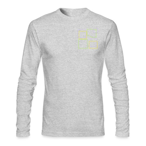 Men: Donald Louch Outline Long Sleeve T-Shirt - Men's Long Sleeve T-Shirt by Next Level