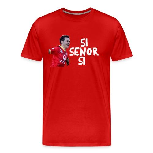 Si Senor Si Men's T Shirt Premium Shirt - Men's Premium T-Shirt