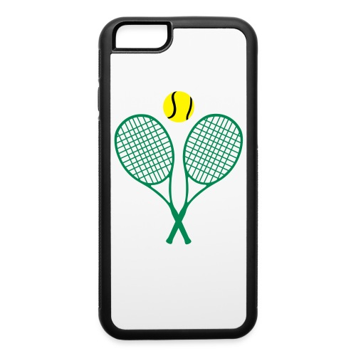 2 RACKETS BETTER THAN 1. iPHONE 6 / 6s RUBBER CASE - iPhone 6/6s Rubber Case