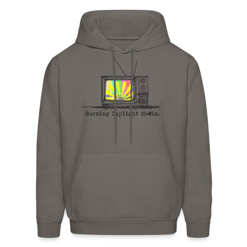 Burning Daylight Media Grey Hoodie - Men's Hoodie