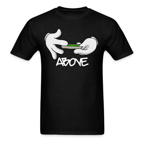 Above Mickey Mouse Blunt Roll Tee - Men's T-Shirt