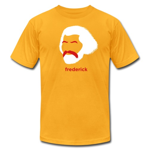 [frederick-douglass] - Men's T-Shirt by American Apparel
