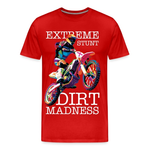 Extreme Stunt (Red) - Men's Premium T-Shirt