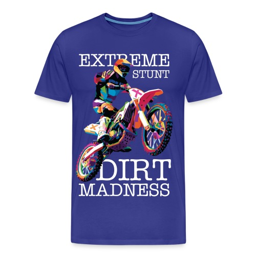 Extreme Stunt (Royal Blue) - Men's Premium T-Shirt